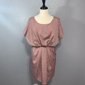 Bar III | Gray Polka Dot Dress S